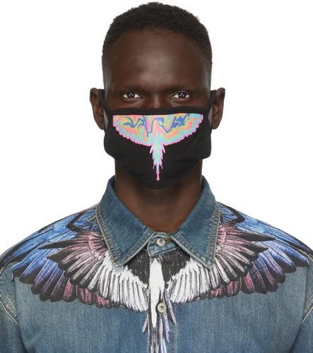 Marcelo Burlon County of Milan winged print face mask ppe
