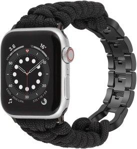 Moolia paracord apple watch band, paracord bracelets