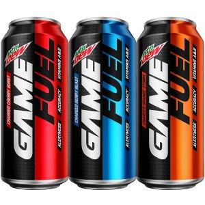 best energy drink mountain dew game fuel
