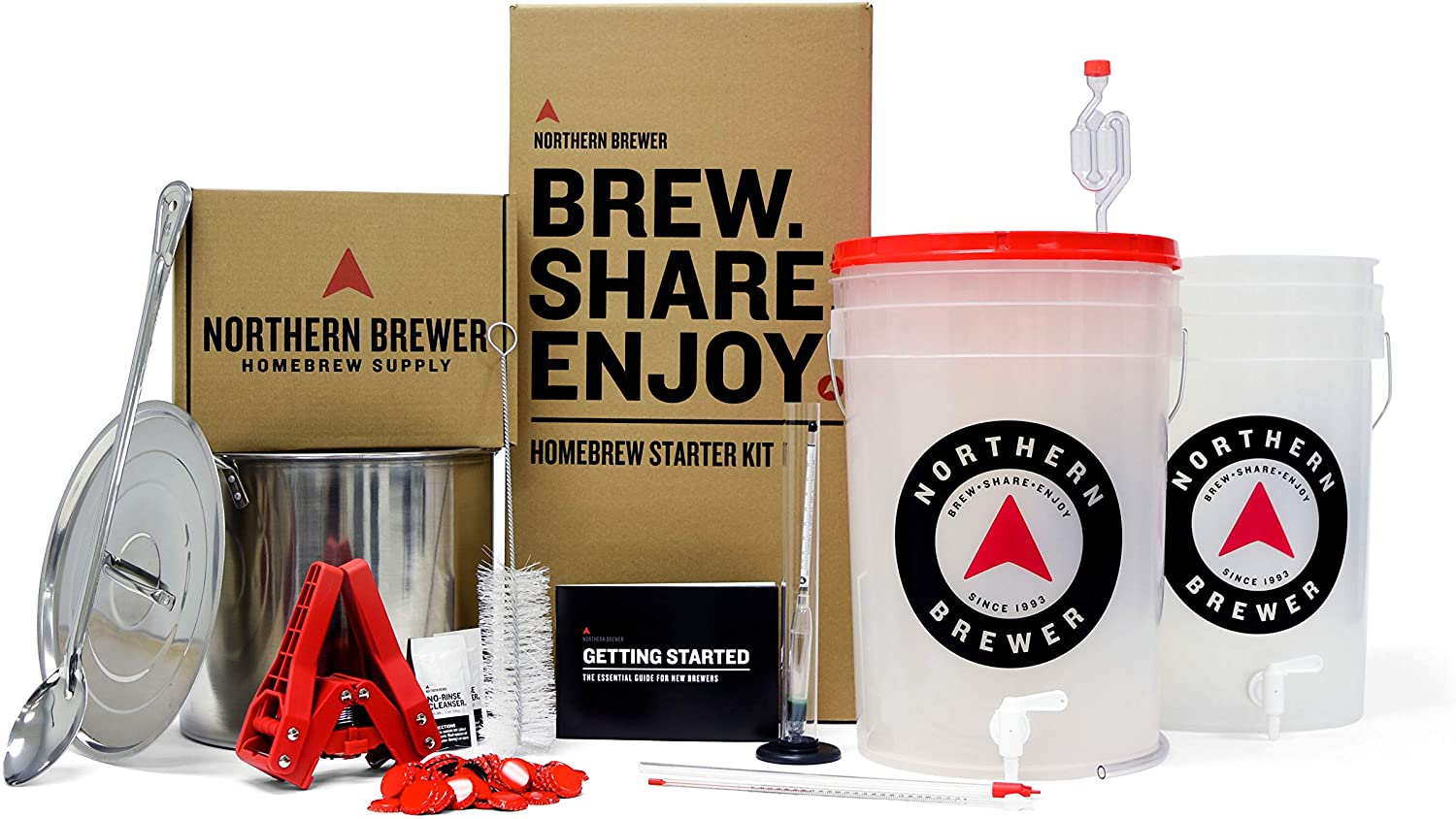 Northern Brewer Homebrewing Starter Set