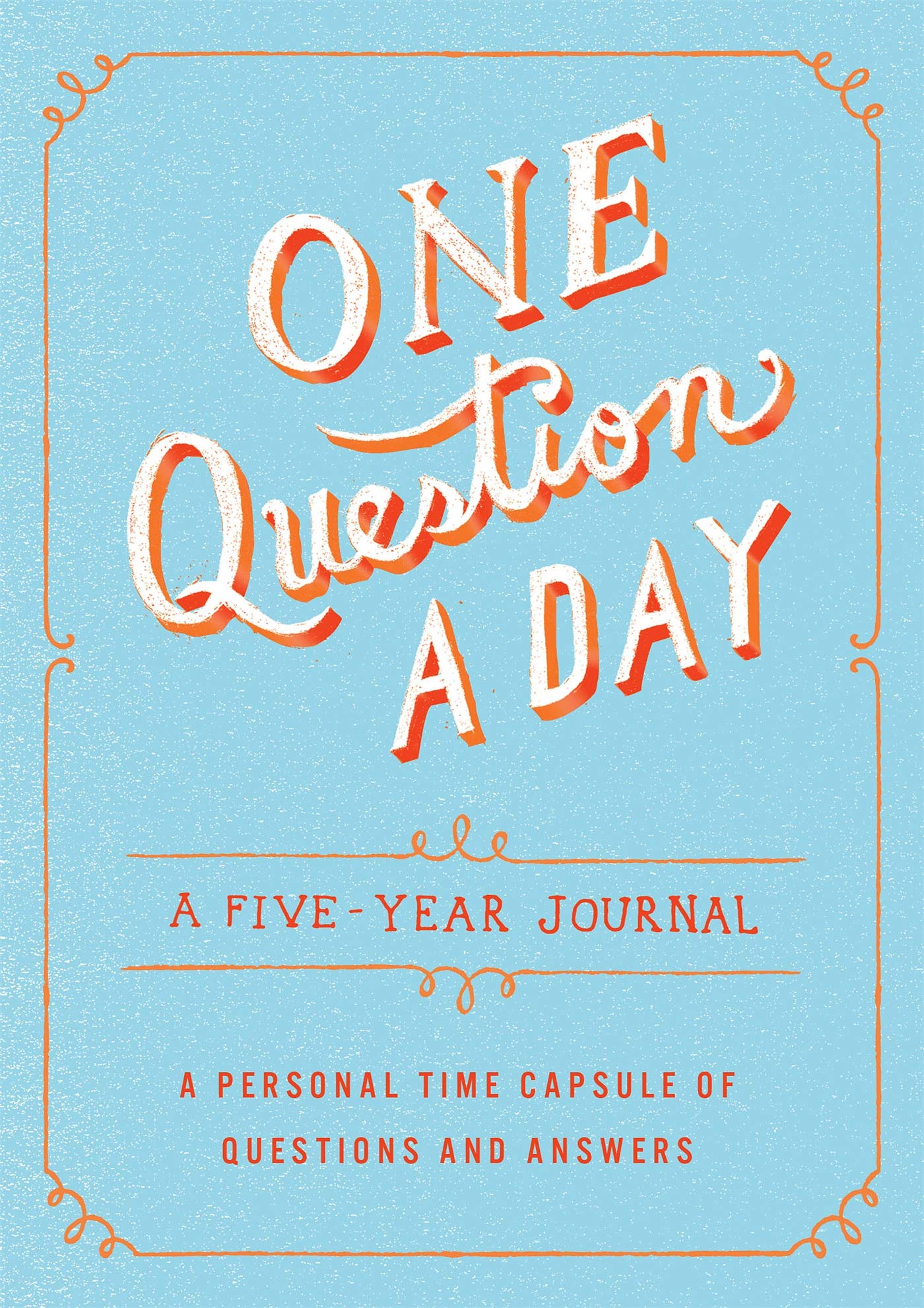 One Question a Day Five Year Journal