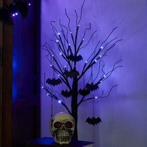 peiduo halloween black tree