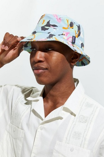 tropical print pantagonia wavefarer bucket hat