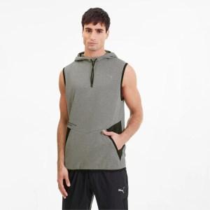 best hoodies for men - PUMA Reactive Sleeveless Training Hoodie