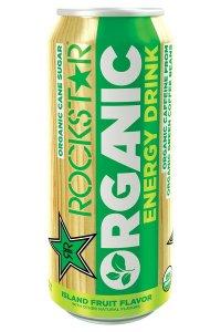 best energy drink rockstar organic