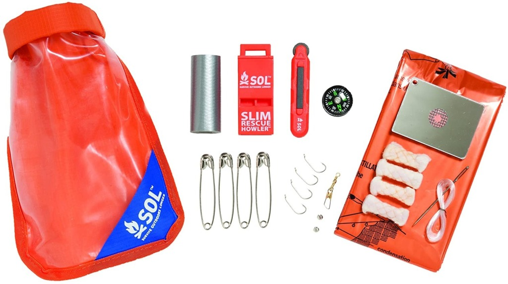 S.O.L. Waterproof Scout Survival Kit