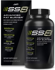 SS8 fat burner, best fat burners for men