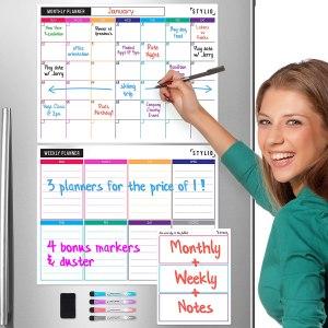 family calendar stylio dry erase