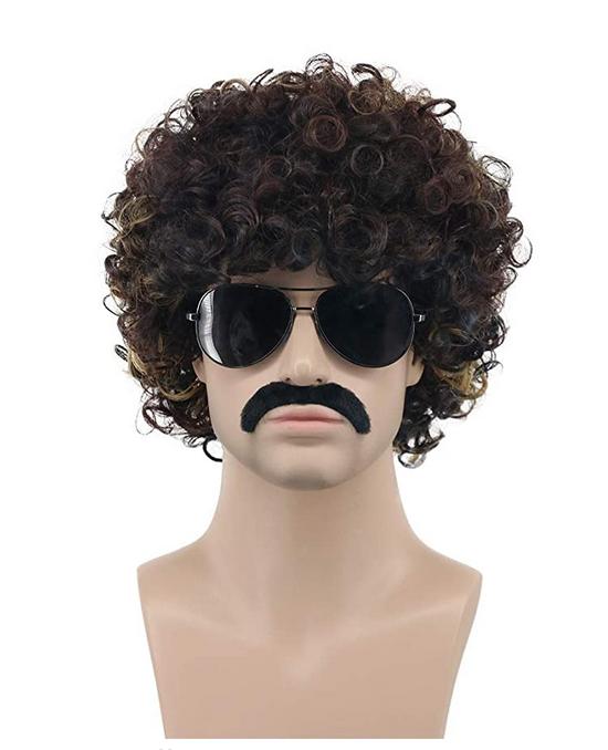 Borat wig