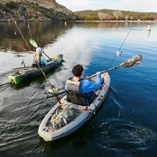 the 15 best fishing kayaks for a more peaceful trip out on the water
