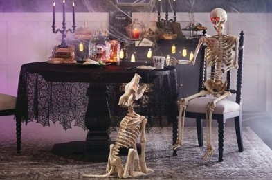 get seriously spooky with these halloween decorations