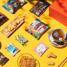 Bokksu box with treats