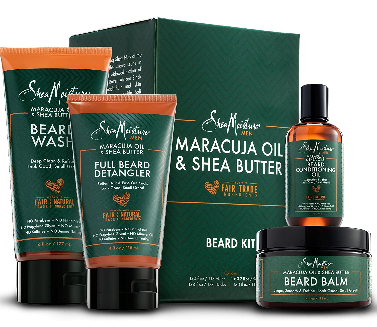 Shea Moisture Complete Beard Kit, best gift for boyfriend