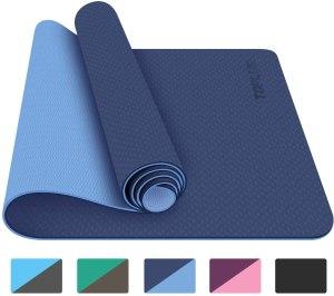TOPLUS yoga mat, home gym essentials