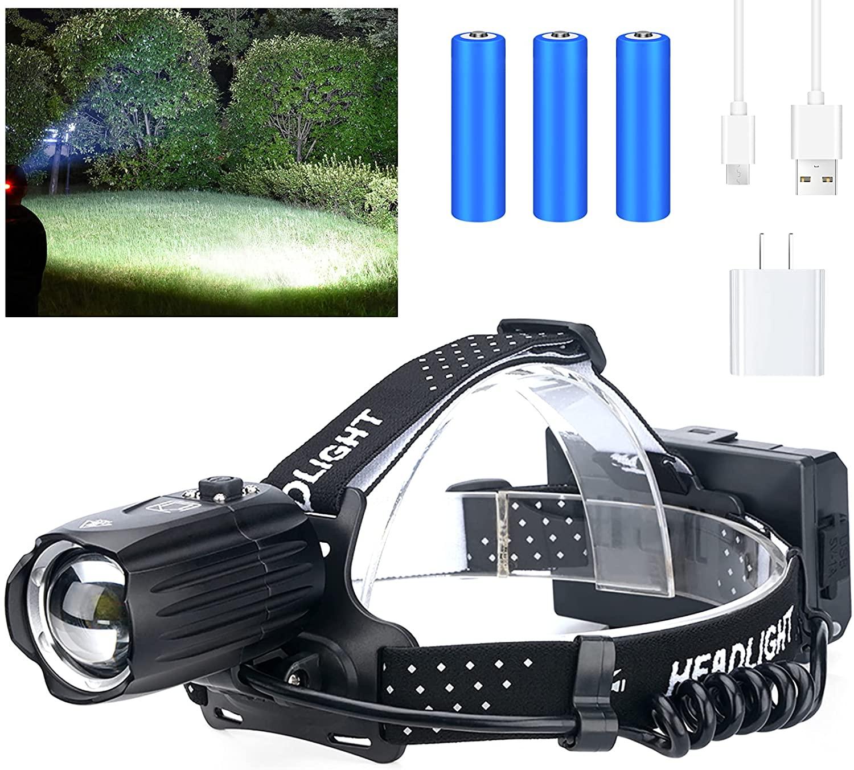 TVMXQ Pro LED Rechargeable Headlamp