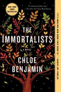 The Immortalists book cover, bookshop
