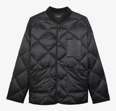 Kooples black quilted jacket