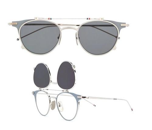 Thom Brown round flip-up sunglasses