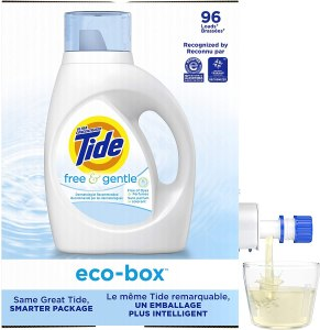 maskne products - Tide Free and Gentle Ultra Concentrated Liquid Laundry Detergent