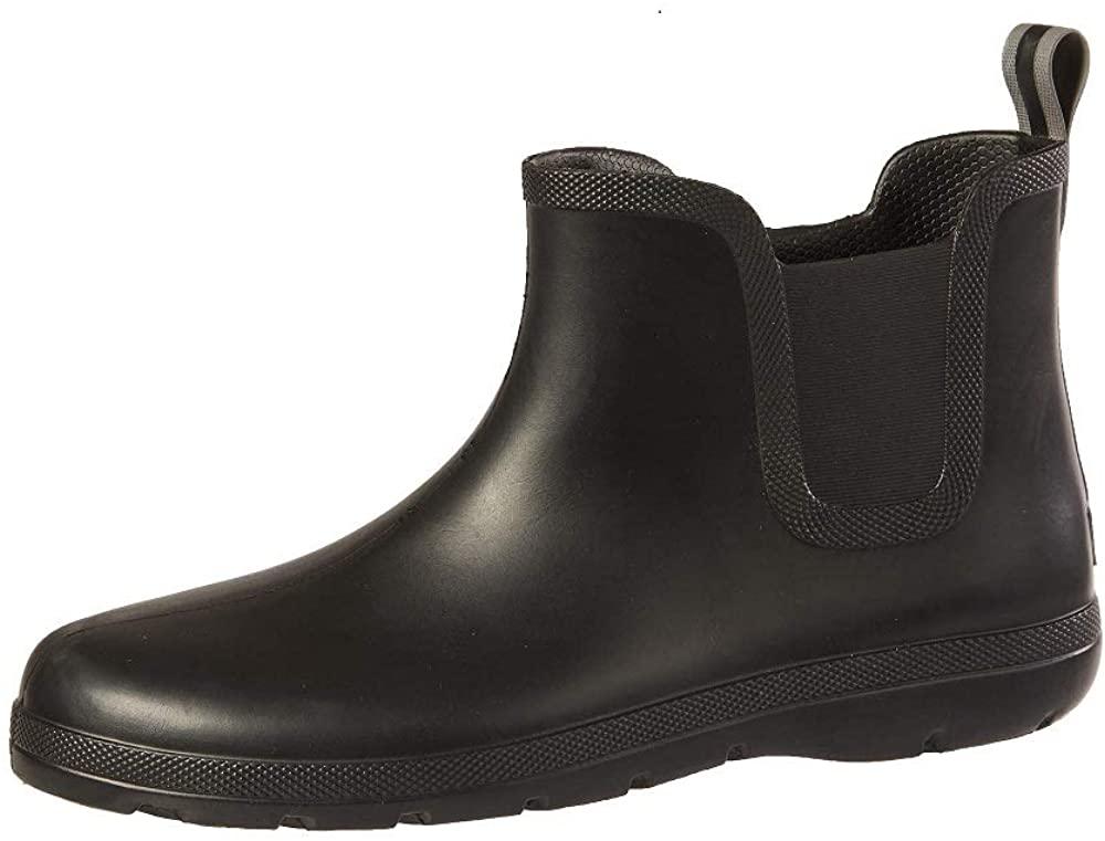 Totes Men's Cirrus Ankle Rubber Rain Boots