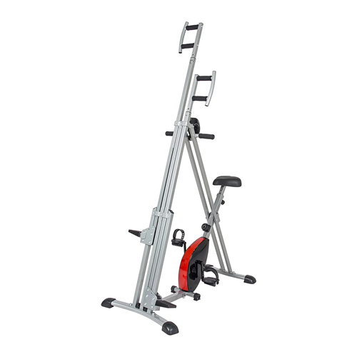 Best Choice Products 2-in-1 vertical climber exercise bike machine