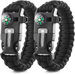 X-Plore paracord bracelets