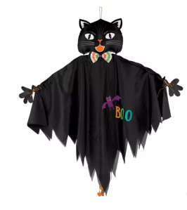 halloween decorations amscan hanging cat