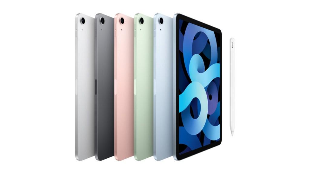 iPad Air Lineup Colors