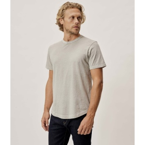 Buck Mason Slub Curved Hem Tee, best men's t-shirts 2021