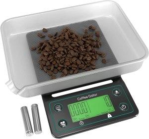 coffee gator coffee scale, best coffee scale, coffee scale
