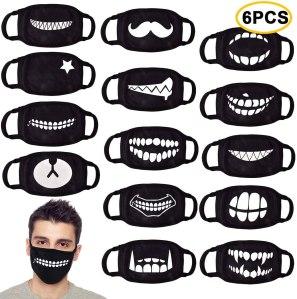 Halloween cotton face masks, Halloween face masks, best Halloween face masks