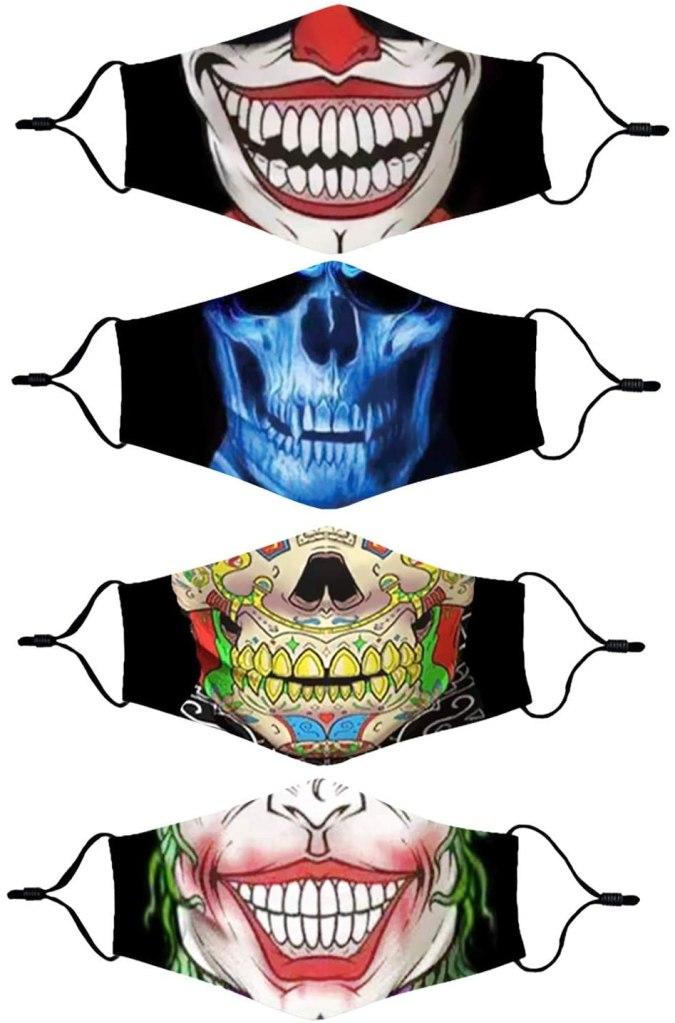 Halloween face masks, best halloween face masks, creepy halloween face masks