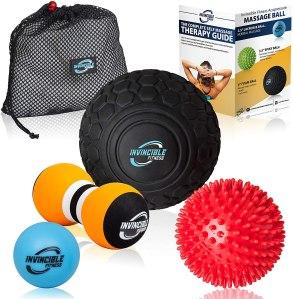deep tissue massage ball set, home gym essentials