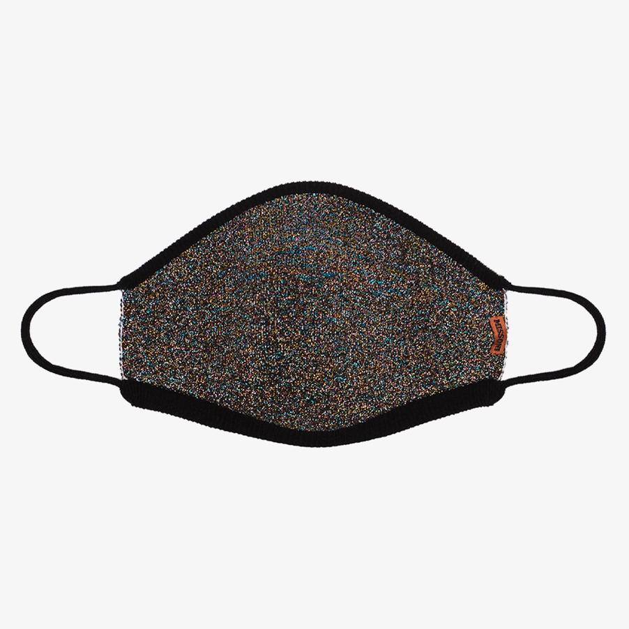 Missoni Black Glittered Face Mask