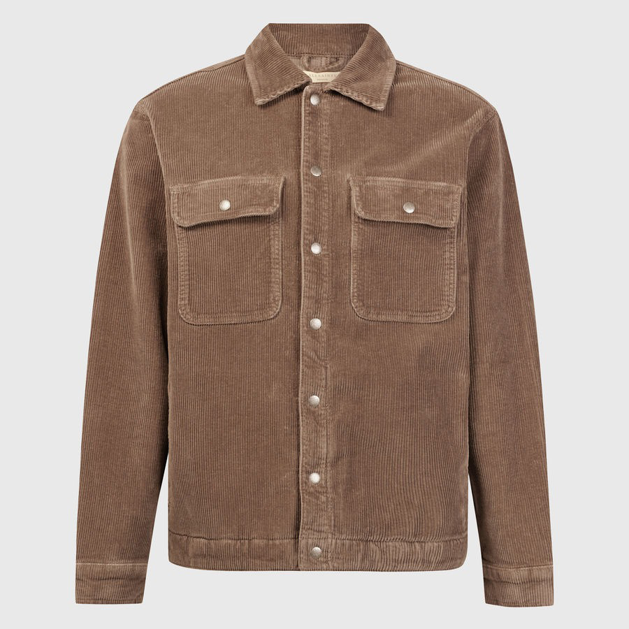 AllSaints Castleford Corduroy Overshirt