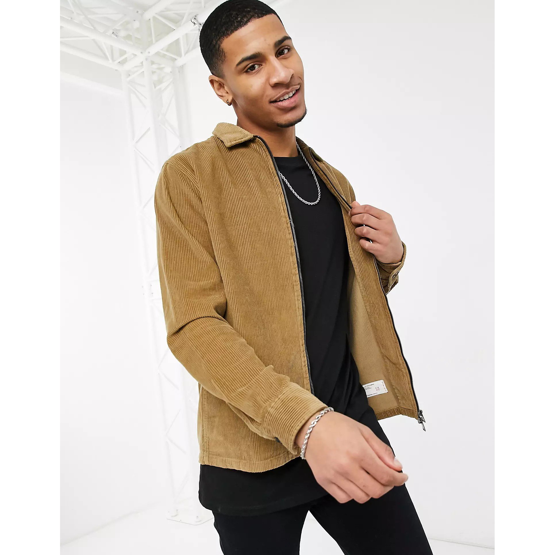 Selected Homme Cord Overshirt Jacket
