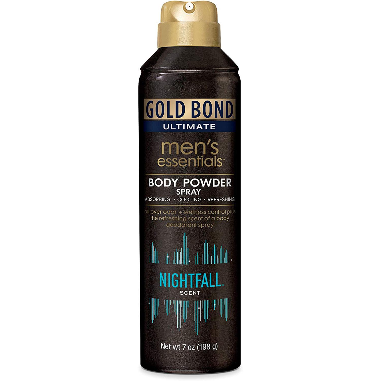 Gold Bond Men's Ultimate Essential Body Powder Spray