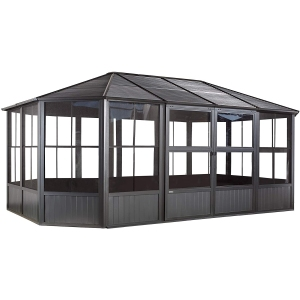 Sojag Outdoor Charleston Aluminum Solarium Sunroom