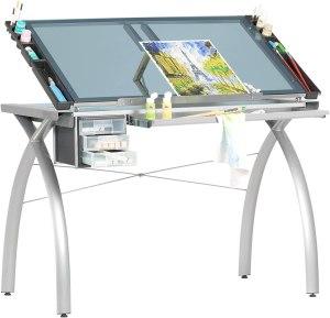 drafting tables glass futura