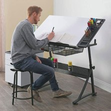 here's why wfh creatives should have an at-home drafting table