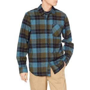 Volcom Caden Plaid Long Sleeve Flannel Shirt