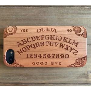 Ouija Spirit Board Cherry Wood Phone Case