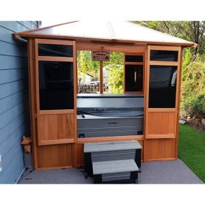 Westview Manufacturing Solarus Hut Spa Gazebo