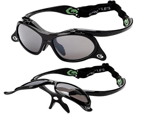 Gargoyle's Men's Gamer Wrap Sunglasses