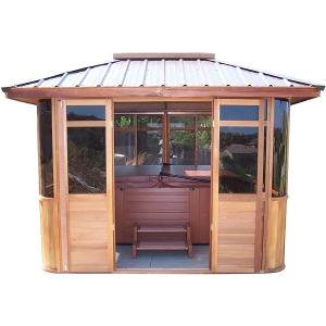 Cedarview Hot Tub Gazebos Villa