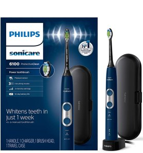 Philips sonicare 6100 toothbrush, best electric toothbrush