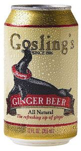Goslings ginger beer, how to make a moscow mule