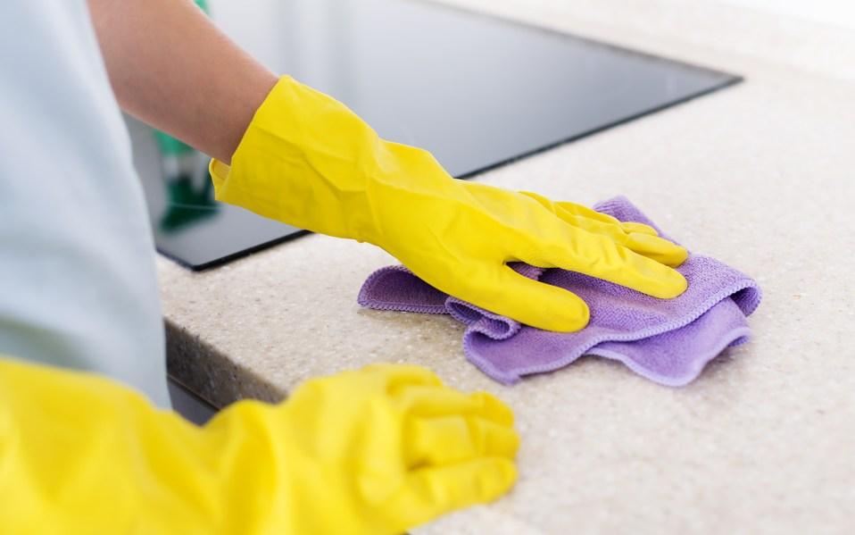granite counters, how to clean granite