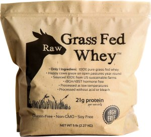 Raw Organic Whey Grass-Fed Protein Powder