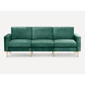 Burrow Nomad Velvet Sofa